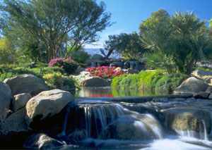 Golf Course Landscaping Water Features