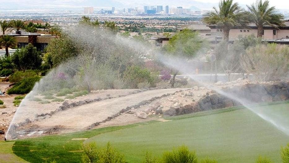 Golf Course Irrigation and drainage