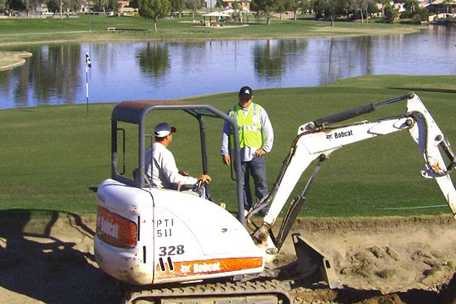 Golf Course Construction by PTI Golf