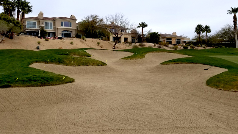 Pro Turf's Bunker Renovation Helps Red Rock CC Take Another